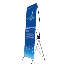 X banner 80x180  z wydrukiem
