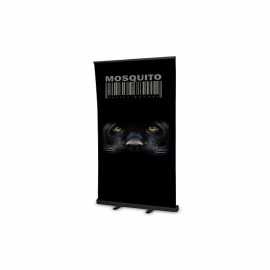 Roll Up Mosquito Black 100x200 z wydrukiem